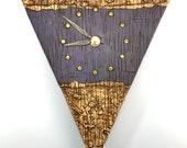 Wall Clock - Purple w/ Neo-Fossils