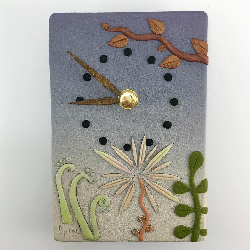 Wall Clock  Garden Secrets image 0