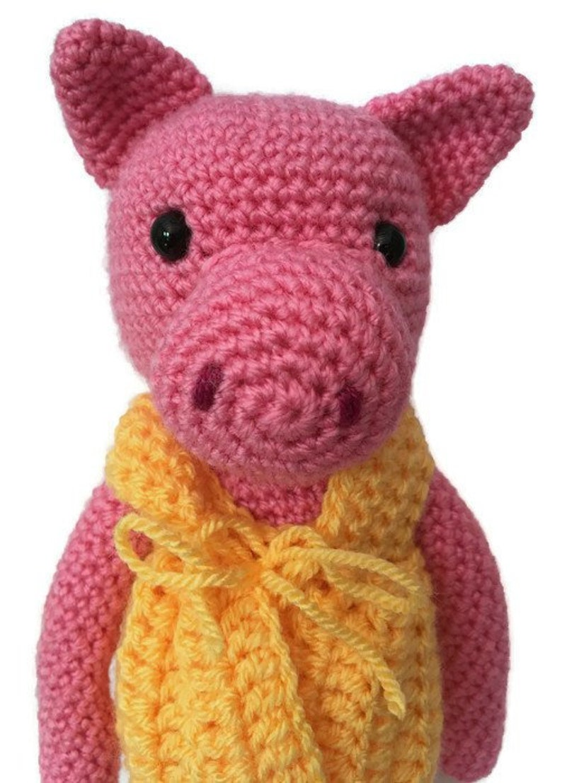 Crochet Pig Pig Plush Pig Crochet Pink Pig Pig Teddy Pig Gifts Girls Gift Ideas Gifts For Her