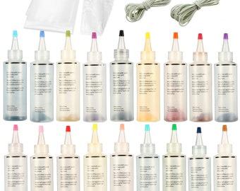 95f4e865f8bc 18Pcs Tulip One Step Tie Dye Kit Vibrant Fabric Textile Permanent Paint  Colors Pigment