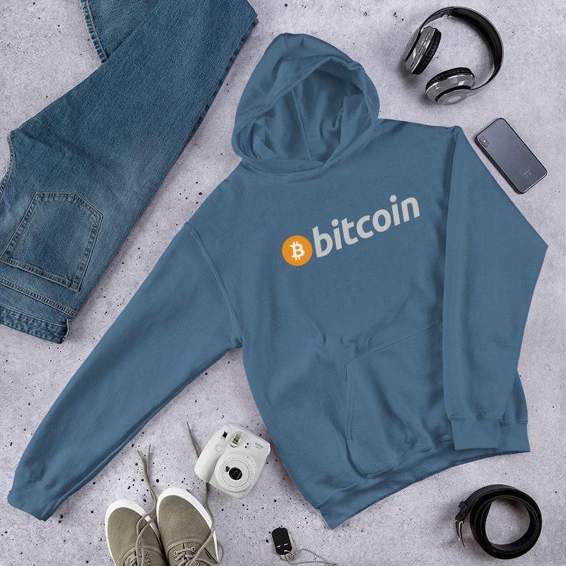 Bitcoin Classic Logo Unisex Hoodie image 0