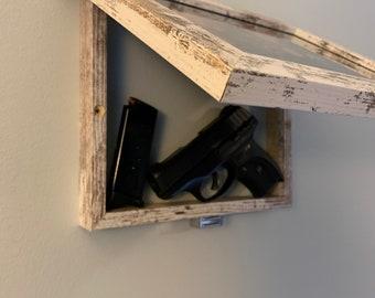 8 x 10 Wooden Picture Frame/Gun Case