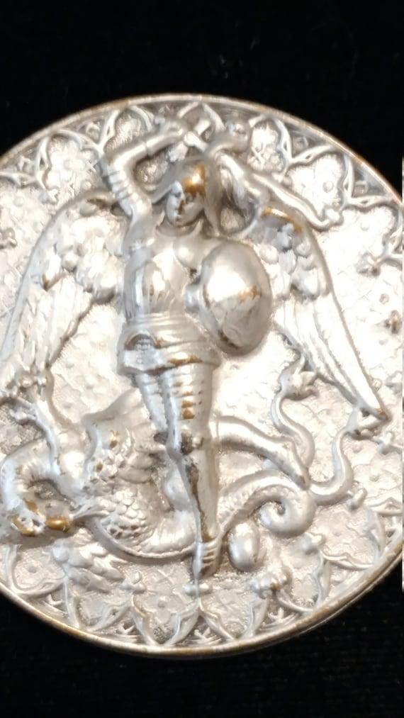 Joseff Hollywood Archangel Dragon Brooch