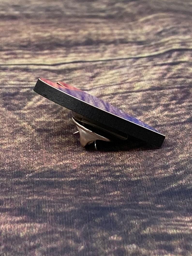 LGBTQ Pin LGBTQ Gift LGBTQ Flag Rainbow Pride Pin Rainbow Flag Brooch Rainbow Pride Pin Heart shaped Pride Pin