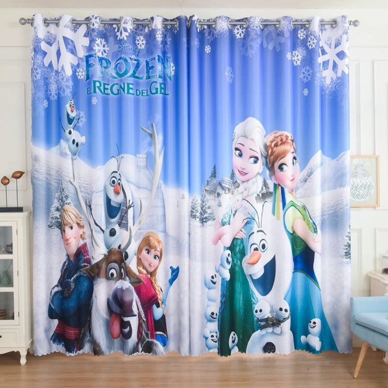 Frozen\Elsa\Princess Curtain
