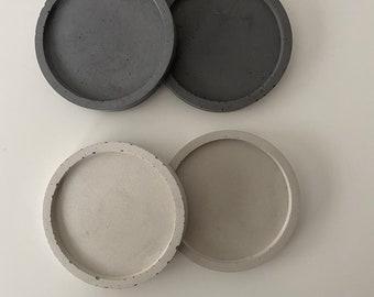 Bowl 8 cm, concrete bowl, ring cushion, candle coaster jewelry bowl concrete decoration, bowl concrete, concrete, skandi trend