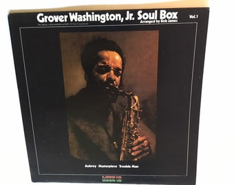Grover Washington Jr Winelight Vinyl Album 1980 In Pristine