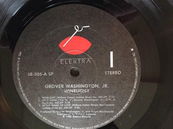 Grover Washington Jr Winelight Vinyl Album 1980 In Pristine Condition