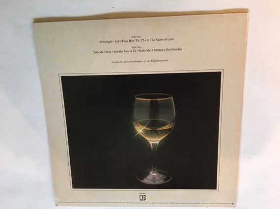 Grover Washington Jr Winelight Vinyl Album 1980 In Pristine Condition