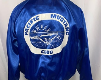 Men's Clothing Coats & Jackets Vintage 90s Ford Racing Satin Bomber Jacket And To Have A Long Life.