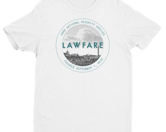 Lawfare Badge Men's Fitted Short Sleeve T-shirt
