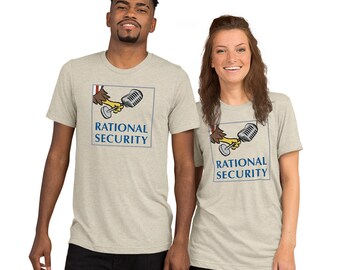 Rational Security unisex short tri-blend sleeve t-shirt