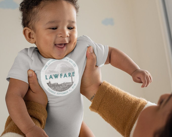 Lawfare Badge Logo Infant Bodysuit