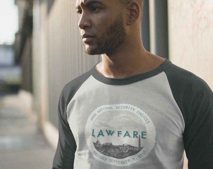 Lawfare Badge 3/4 Sleeve Baseball Raglan
