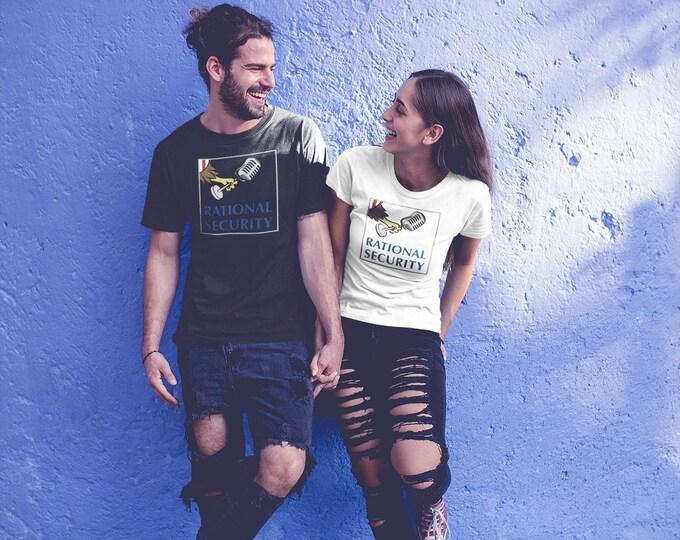 Rational Security unisex short tri-blend sleeve t-shirt
