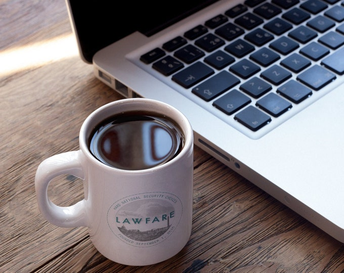 Lawfare Logo Ceramic Coffee Mug