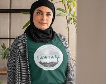 Lawfare Seal short sleeve unisex tee