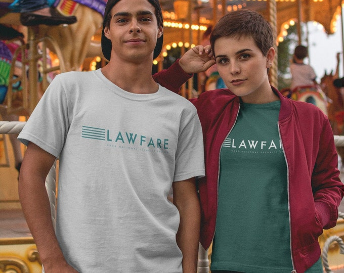 Lawfare Banner Unisex Triblend Short sleeve t-shirt