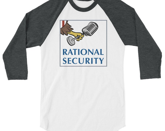 Rational Security 3/4 sleeve raglan shirt