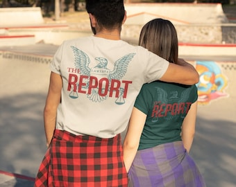The REPORT unisex triblend tee