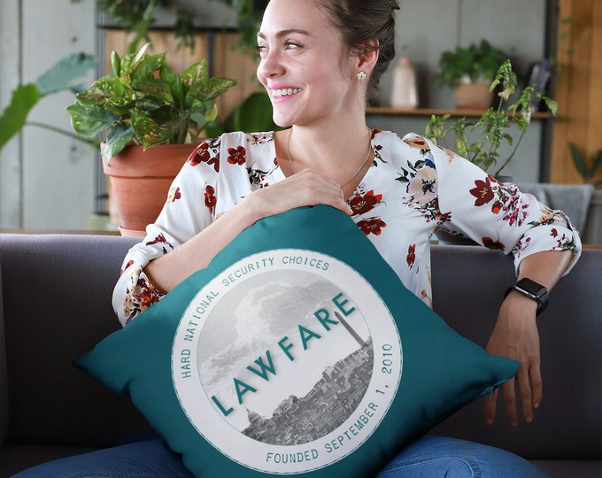 Lawfare Badge/Banner Premium Pillows