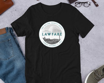 Lawfare Badge Short-Sleeve Unisex T-Shirt
