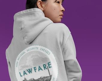 Lawfare Badge Hooded Sweatshirt