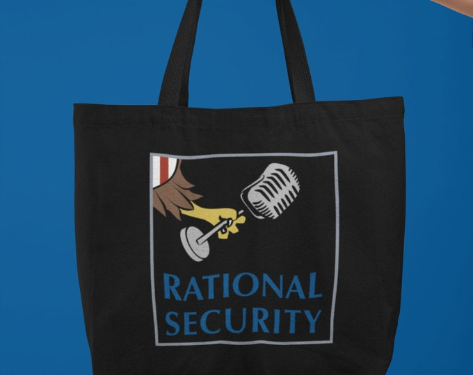 Rational Security Large organic tote bag