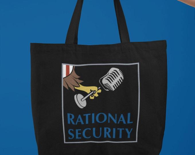 Rational Security Large organic tote bag