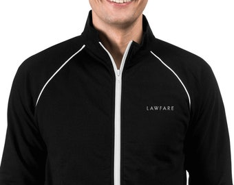 Lawfare Embroidered Piped Fleece Jacket