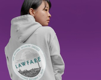 Lawfare Badge Hooded Sweatshirt