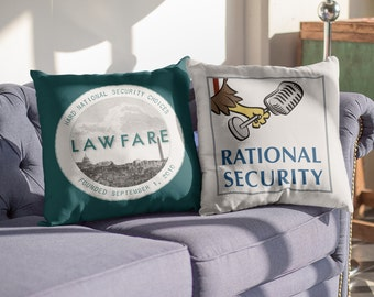 Rational Security Premium Throw Pillow