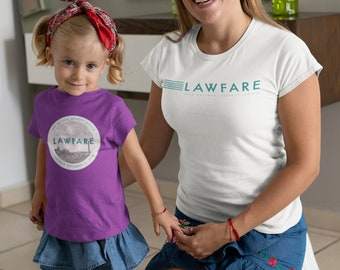 Lawfare badge short sleeve kids t-shirt