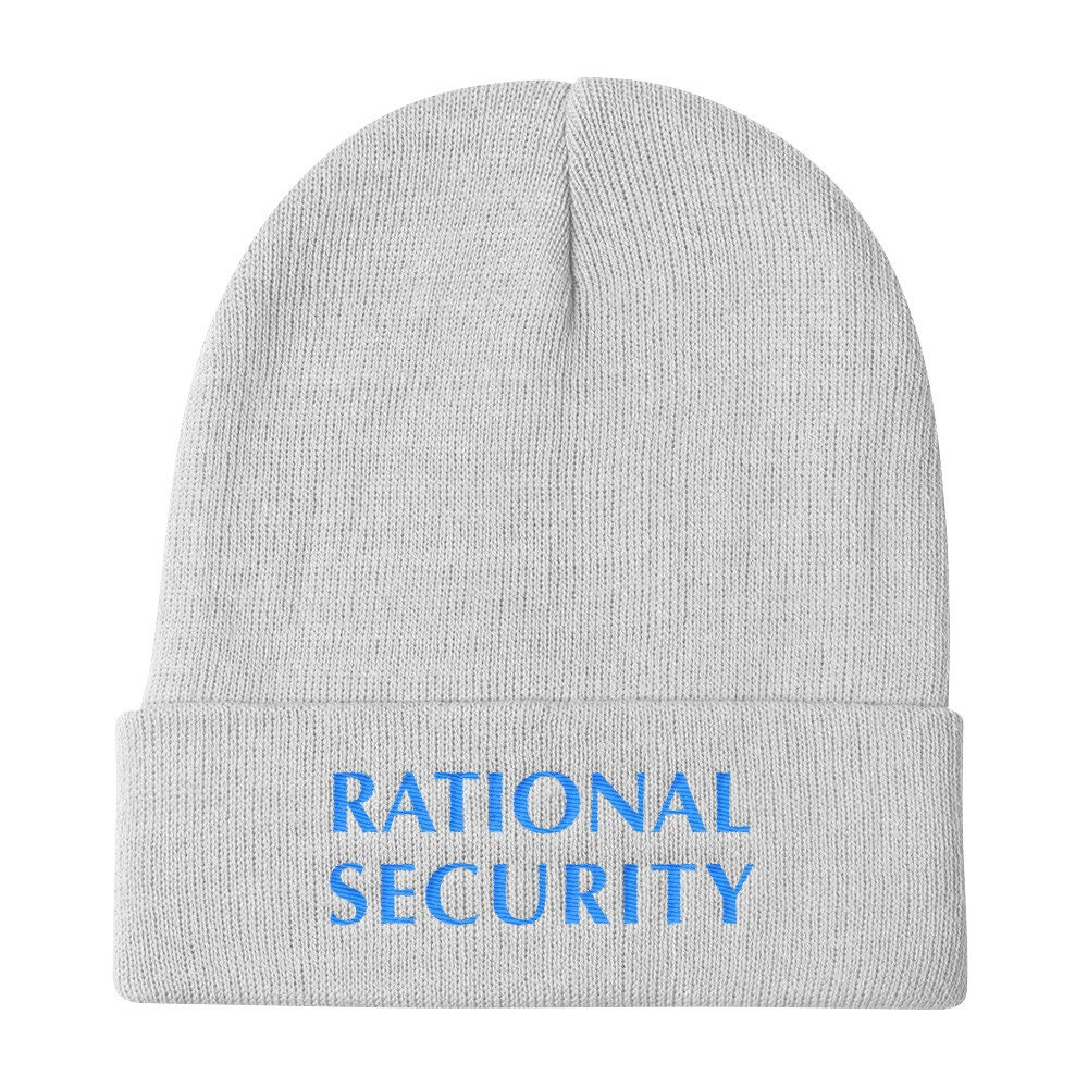 932b6e4c708 Rational Security Podcast Knit Beanie