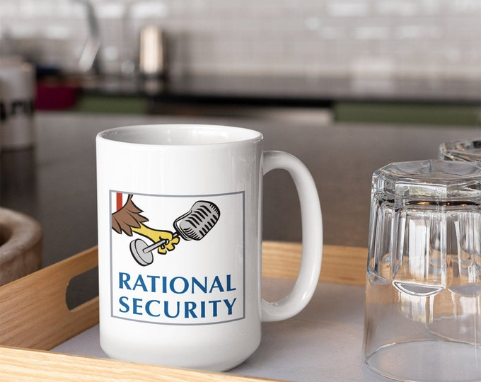Featured listing image: Rational Security Podcast Ceramic Coffee Mug