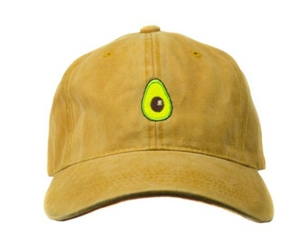 f6be12bdcf4e7 Avocado Dad Hat (Mustard)