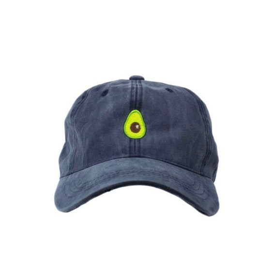 Avocado Dad Hat Washed Navy  a1d00becbb7