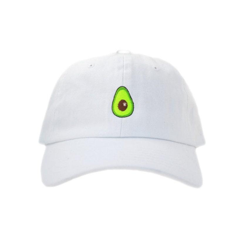 Avocado Dad Hat OG White  e1e12bed340