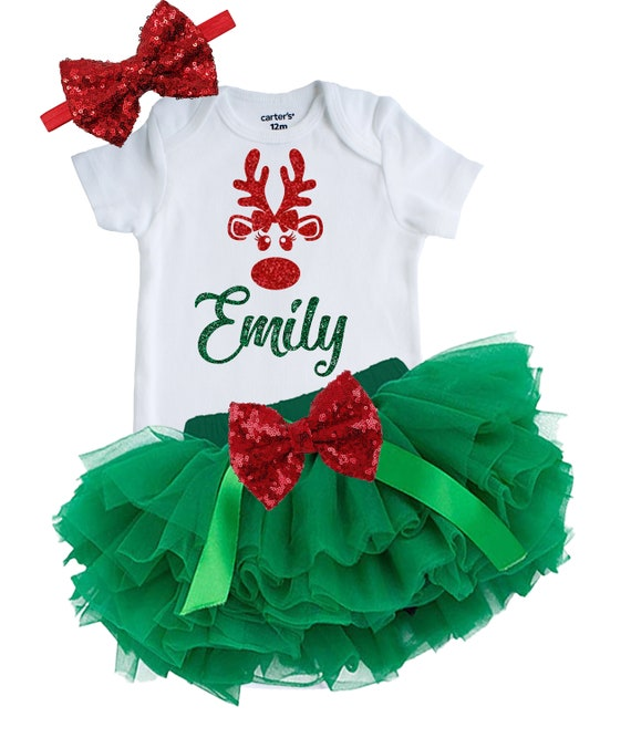Newborn Christmas Outfit Girl.Christmas Baby And Toddler Girl S Outfit It S My First Christmas Baby Girl Outfit Newborn Christmas Outfit Merry Christmas Baby Outfit