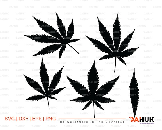Marijuana Clipart Svg Marijuana Svg Vector Pot Leaf Svg Etsy