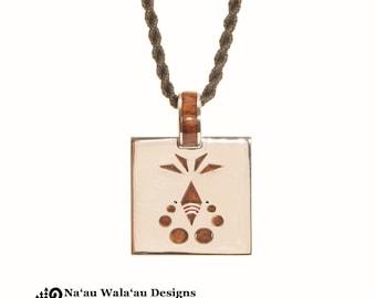 Pono - Aloha Collection - Balanced - Pendant - Sterling Silver - Hawaiian Jewelry