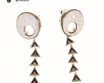 Lake Waiau - Aloha Aina Collection - Sterling Silver - Earrings - Hawaiian Jewelry