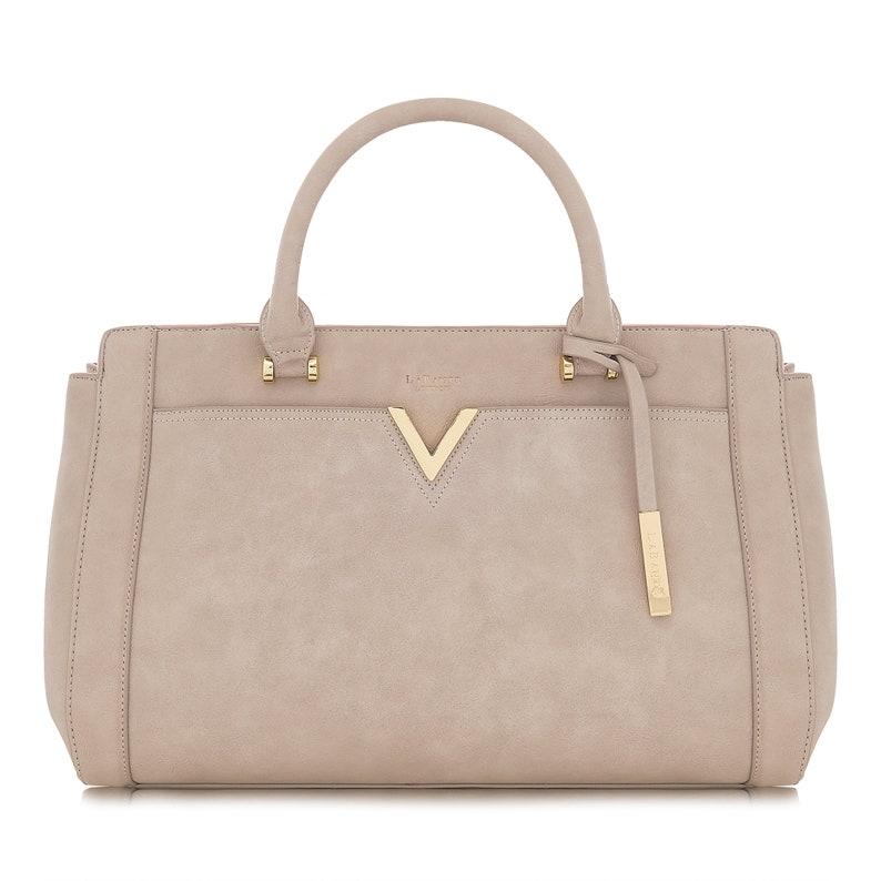 67d3af0b7b95 LaBante London Dawson Vegan Bag Tote Bag Leather Taupe