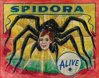 Sideshow Banner - Spidora