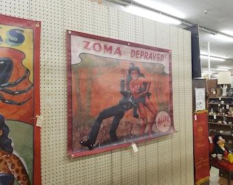 Sideshow Banner - Zoma Depraved