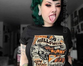 Vintage Retro Halloween T-Shirt