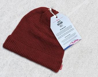 607f8cc5123 Beanie    Dark Red Beanie    Beanie Hat    Knitted Beanie    Boys Beanie    Girls  Beanies    Woman Beanie    Fisherman Beanie - Handmade