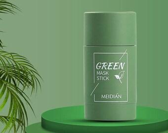 Green Tea Clean Face Oil Control Solid Mask Control/Anti Acne Face Mask Skin Care Stick