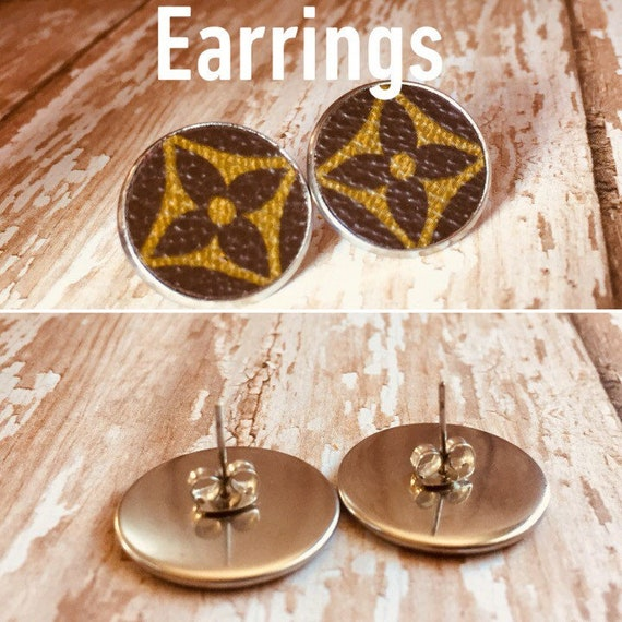 ed27b3fea59d Beautiful authentic Louis Vuitton repurposed upcycle stud