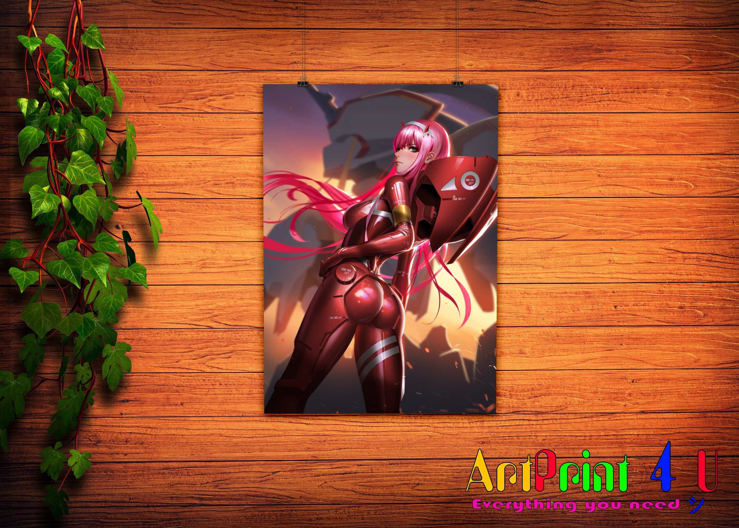 A0 A1 A2 A3 A4 Sizes Greatest Anime Characters Collage Giant Poster Art Print